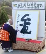 2012年の漢字は「金」